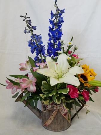 Garden Delight Galvanized Tin In Gladstone Mi Trotter S Floral
