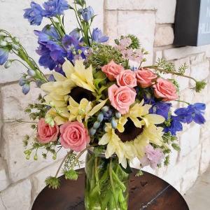 Garden Delights Mason Jar Mix in Burleson, TX | Texas Floral Design Inc