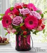 Garden Elegance Bouquet Vase Arrangement