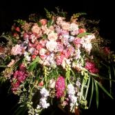 garden fleur  casket cover