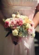 Garden Fresh Bouquet Wedding Flowers