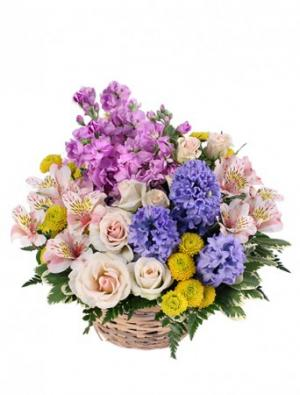 Fragrant Garden Arrangement in Winston Salem, NC | RAE'S NORTH POINT FLORIST INC.