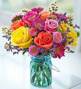 Garden Fresh Vase in Vernon, NJ | HIGHLAND FLOWERS