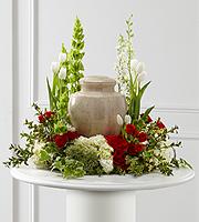 Garden Funeral Tribute Arreglo para Cenizas