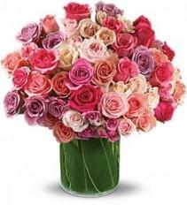 Garden Galore Rose Arrangement