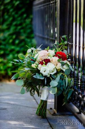 Garden Gate Wedding bouquet