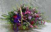 Garden Gathering Basket Funeral