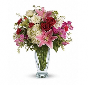 Garden Grace Bouquet  Vase
