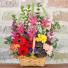 Garden Grandeur Colorful Basket