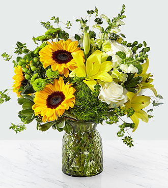 Garden Grown Vase Arrangement
