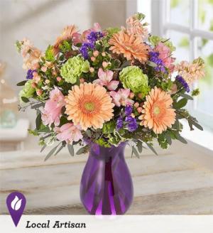Garden Inspiration Vase Design in Snellville, GA | SNELLVILLE FLORIST