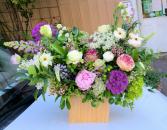 Garden-Inspired Designer's Choice Box or Basket Arrangement