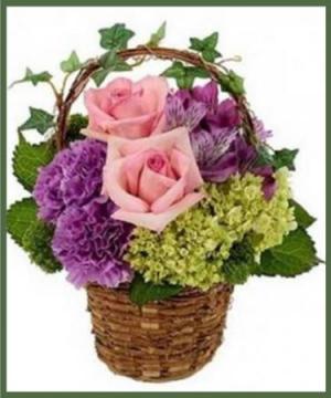 Garden Ivy Basket A Customer Favorite! in Arlington, TX | Lige Green Flowers