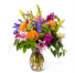 Garden loves Vase of mixed flowers