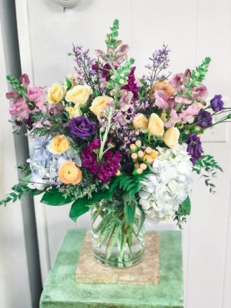 Garden Medley Vase Arrangement