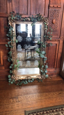 Garden Mirror  Seating Chart in Teaneck, NJ | Teaneck Flower Shop (A.A.A.A.A.)