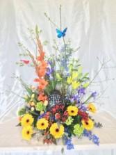 Garden of Color Urn Arrangement