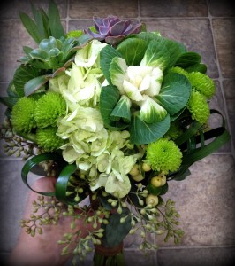 Garden of Eden Bridesmaid bouquet
