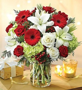 Garden of Grandeur Christmas by Enchanted Florist of Cape Coral