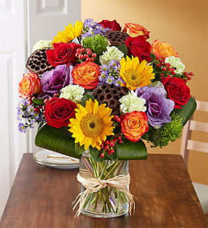 Garden of Grandeur™ for Fall '18 Arrangement in Croton On Hudson, NY | Cooke's Little Shoppe Of Flowers