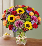 garden of grandeur for fall floral arrangement