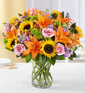 Garden of Grandeur vase in Sunrise, FL | FLORIST24HRS.COM