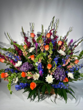 Garden of Light Funeral basket