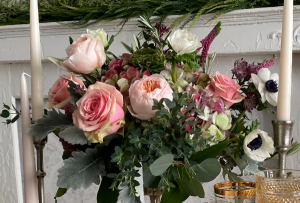 Spring Garden of Love Vase Arrangement in Northport, NY | Hengstenberg's Florist