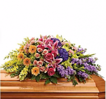 Garden of Love Casket Spray