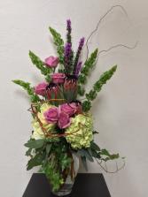 Lavender Lust Vase Arrangement