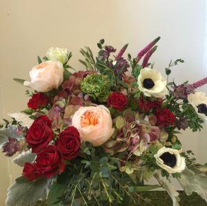 Garden of Love 1 Vase Arrangement in Northport, NY | Hengstenberg's Florist
