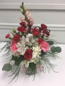 Garden of Love Vased Arrangement
