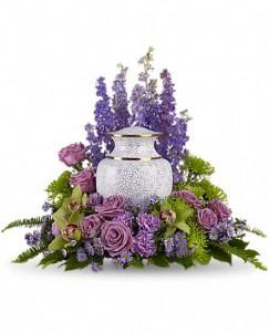 Garden of Memories Cremation Wreath in Warrington, PA   ANGEL ROSE FLORIST INC.