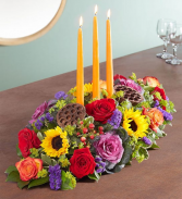 Garden Of Splendor For Fall Centerpiece