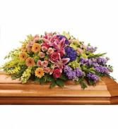 Garden of Sweet Memories - 267 casket spray