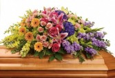 Garden Of Sweet Memories Casket Spray T267-4B