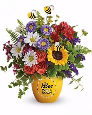 Garden Of Wellness Bouquet get well in Las Vegas, NV   Blooming Memory