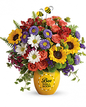 Garden Of Wellness Bouquet Get Well in Punta Gorda, FL | CHARLOTTE COUNTY FLOWERS