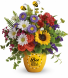 Garden Of Wellness One-Sided Floral Arrangement