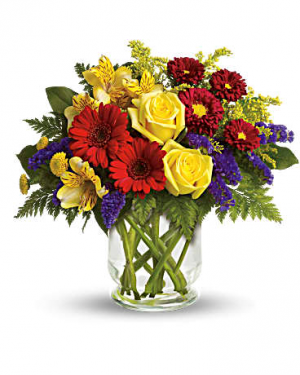 Garden Parade Vase Arrangement in Cabot, AR | Petals & Plants, Inc.