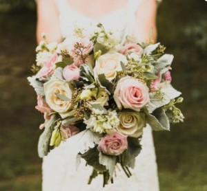 Garden Paradise Bridal Bqt in Bryson City, NC | Village Florist