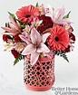 Garden Park Arrangment Vase in Claremont, NH | FLORAL DESIGNS BY LINDA PERRON