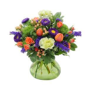 Garden Party Arrangement in Kannapolis, NC | MIDWAY FLORIST OF KANNAPOLIS