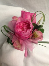 Garden Party  wrist corsage