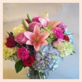 Garden Pastels  Vase