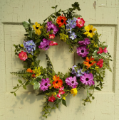 Garden Path Silk Wreath