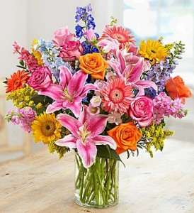 Garden Pathway Bouquet by Enchanted Florist