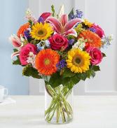 Garden Pathway Vase Arrangement