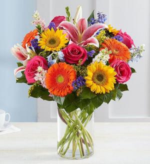 Garden Pathway Vase Arrangement in Springfield, MO | FLOWERAMA #226