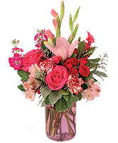 Garden Pink Flower Arrangement